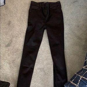 Abercrombie black jeans